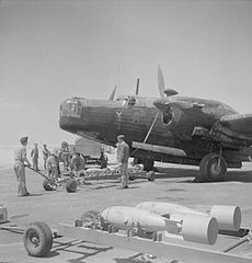 Vickers Wellington - Egypt - Royal Air Force- Operations in North Africa, 1939-1943. CBM1329.jpg
