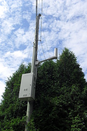 Distributed antenna system - A typical DAS node for the Videotron 3G network in Montreal, Quebec