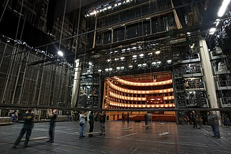 Theater (structure) - Backstage area of the Vienna State Opera