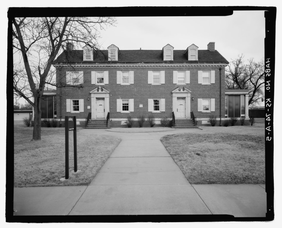 File View East Front Side Veterans Administration
