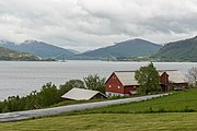 View of Averøy Island and Gjemnessundbrua 20150604 1.jpg
