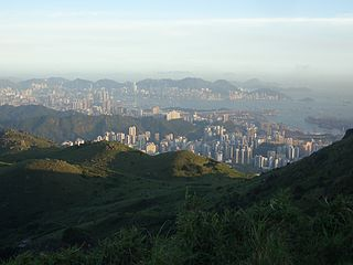A look at Hong Kong Island.