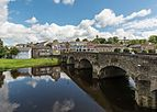 View of northern N11 bridge and Shannon Quay, Enniscorthy 20150806 1.jpg