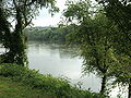 View of the Dan River Danville Virginia.JPG