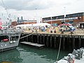 View of the Portsmouth Engineering Group workshops from tugboat moored at Portsmouth Dockyard - geograph.org.uk - 900518.jpg
