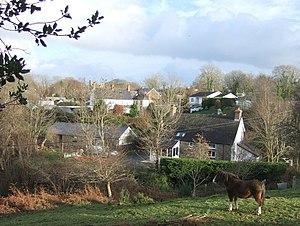Eglwyswrw - View over Eglwyswrw