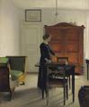 Vilhelm Hammershøi - Stue - 1897.png