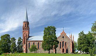 Viljandi - St. Paul's church (Pauluse kirik)