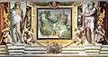 Villa giulia, piano nobile, sala A, affreschi di taddeo zuccari e prospero fontana 09 sette colli di roma, capitolino 02.jpg