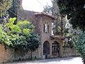 Villa palmieri, accesso neogotico 01.JPG