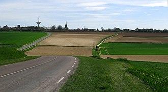 Villers-Bretonneux - Villers-Bretonneux view from the Australian memorial park