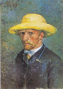 Van Gogh March April 1887 Paris Portrait Of Theo Quote Vincent Summer I Would Like Above All Things To Be Less A