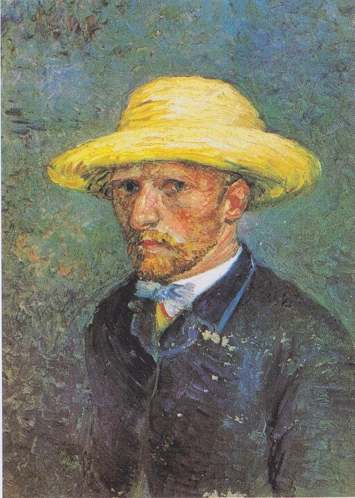 Vincent van Gogh, Portrait of Theo van Gogh (1887) - 02