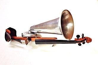 Stroh violin - Stroh violin at the Museu de la Música de Barcelona