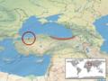 Vipera barani distribution (IUCN).png
