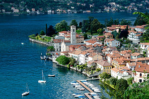 Torno, Lombardy - View of Torno