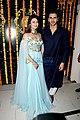 Vivek Dahiya and Divyanka Tripathi at Ekta Kapoor's Diwali party.jpg