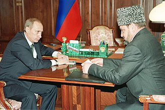 Ramzan Kadyrov - Akhmad Kadyrov, formerly a leading separatist mufti, had switched sides in 2000