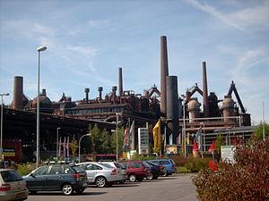 Völklingen Ironworks - Image: Voelklinger Huette 1