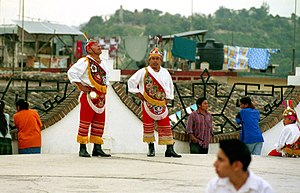 Voladores after a Performance, Papantla, Mexico.jpg