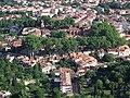 Vue Sud du centre historique de Céret depuis la montée au mas Boher.jpg