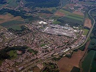 Thourotte Commune in Hauts-de-France, France