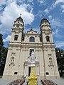 Włodawa, kościół św. Ludwika, widok od pd. (1).JPG