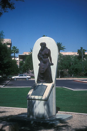 Wesley Bolin Memorial Plaza - Arizona Pioneer Women Memorial