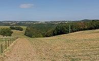 Waarschijnlijk Kommerscheid en Warscheid, dubbel dorpszicht vanaf Schmidt foto2 2016-09-10 13.15.jpg