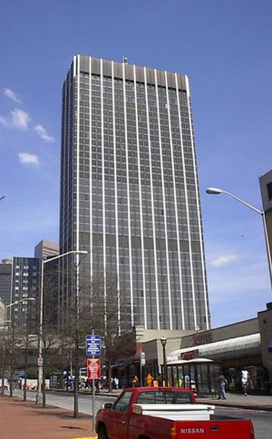 State of Georgia Building - Image: Wachovia bldg atlanta 01