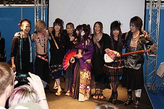 Wagakki Band - Image: Wagakki Band Japan Expo