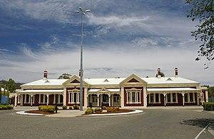 Wagga Wagga railway station - Station front in November 2008