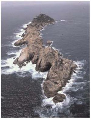 Waglan Island - Waglan Island seen from north