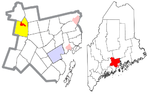 Waldo County Maine Incorporated Areas Unity CDP Highlighted.png