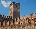 Walls and the tower of Castelvecchio. Verona, Italy.jpg