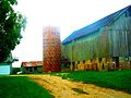 Walser Farmstead Barn ^ Tile Silo - panoramio.jpg