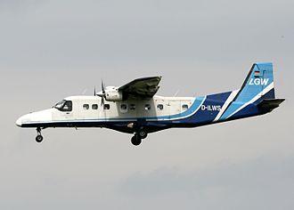 Luftfahrtgesellschaft Walter - An LGW Dornier Do 228 in 2004
