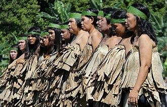 Enggano Island - Enggano female dancers