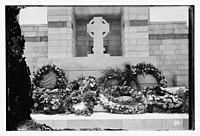 War cemetery consecration, Gaza-Belah, April 28, 1925 LOC matpc.08204.jpg