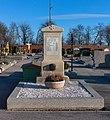 War grave for World war I on the cemetery Vösendorf, Lower Austria, Austria-grave PNr°0658.jpg