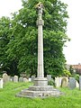 War memorial, St John the Baptist church, Morton.jpg