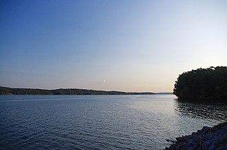 Waterloo, Alabama - Pickwick Lake at Waterloo