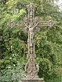 Watronville (Meuse) croix de chemin (01), la croix.JPG