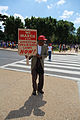 We march for effective civil rights laws now - 50th Anniversary of the Civil Rights March on Washington for Jobs and Freedom.jpg