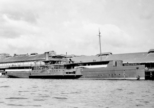 PS Weeroona (1910) - Weeroona (S-195), Small Ships Section, United States Army Services of Supply, Southwest Pacific Area, 1943.