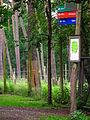 Wegweiser Wildpark Alte Fasanerie Klein-Auheim Juni 2012.JPG