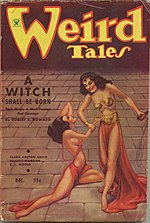 Weird Tales cover image for December 1934