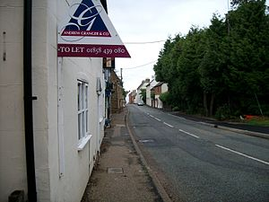 A5199 road - Image: Welford High Street