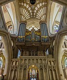 Wells Cathedral Organ from Inverted Arches, Somerset, UK - Diliff.jpg