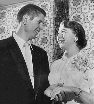 Wes Santee - Wedding of Wes Santee and Anna Lou Denning on April 19, 1954